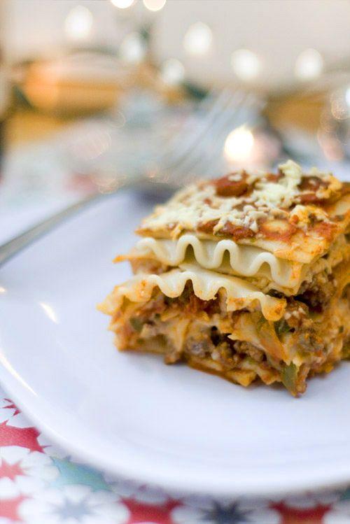 gluten free, dairy free lasagna