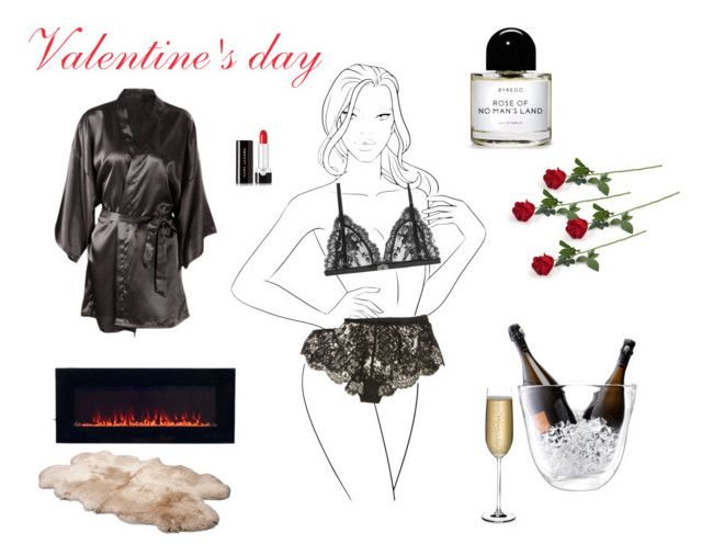 """""""Valentine's day"""" by ilarial1 ❤ liked on Polyvore featuring La Perla, Alexander McQueen, LSA International, Nude, TradeMark, UGG Australia, Byredo and Marc Jacobs"""