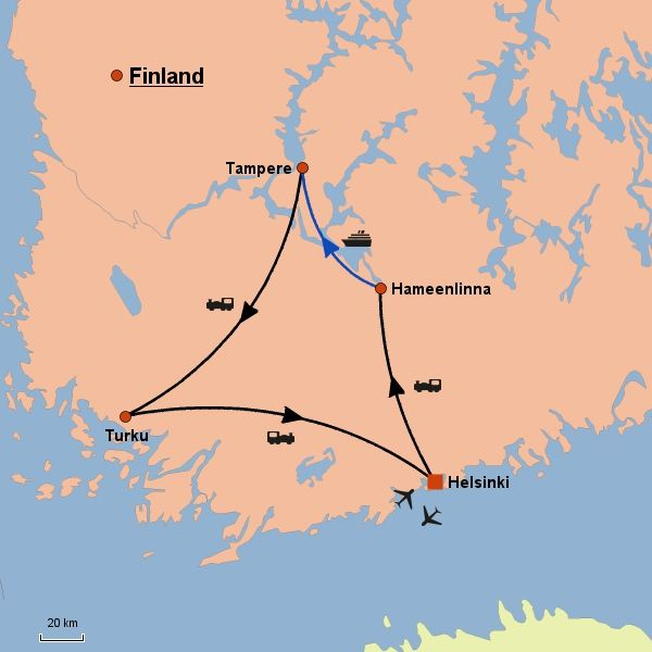 Fascinating Cities and Lakes by Train - Scanam World Tours