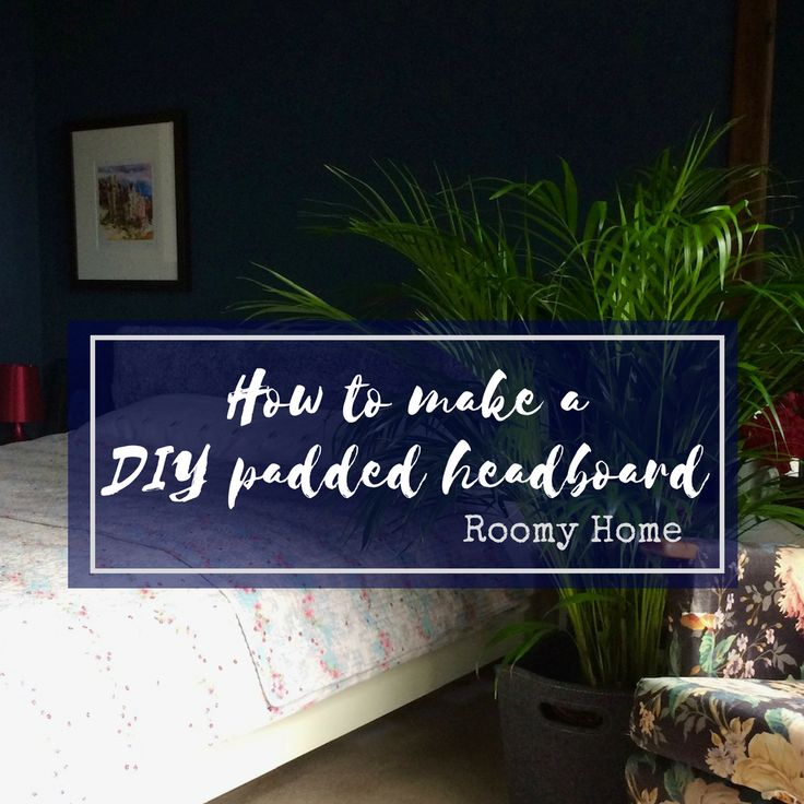One hour room refresh - DIY padded headboard to give your bedroom boho luxe style.