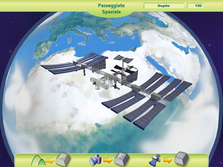 DAMALAB Videogame designed and developed for the Italian Space Agency