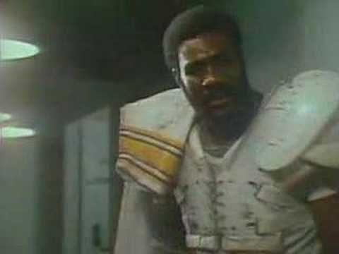"Mean Joe Green's ""Hey Kid, Catch"" Coca Cola Classic ad (Super Bowl XIV, 1980)"
