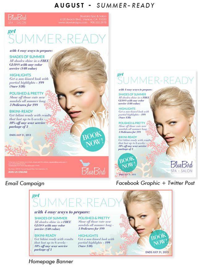 26 best salon advertising images on pinterest salon - Salon marketing digital ...