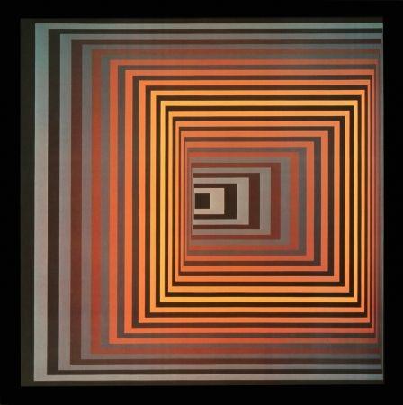 Offset - Victor Vasarely - VONAL – FEGN, 1968