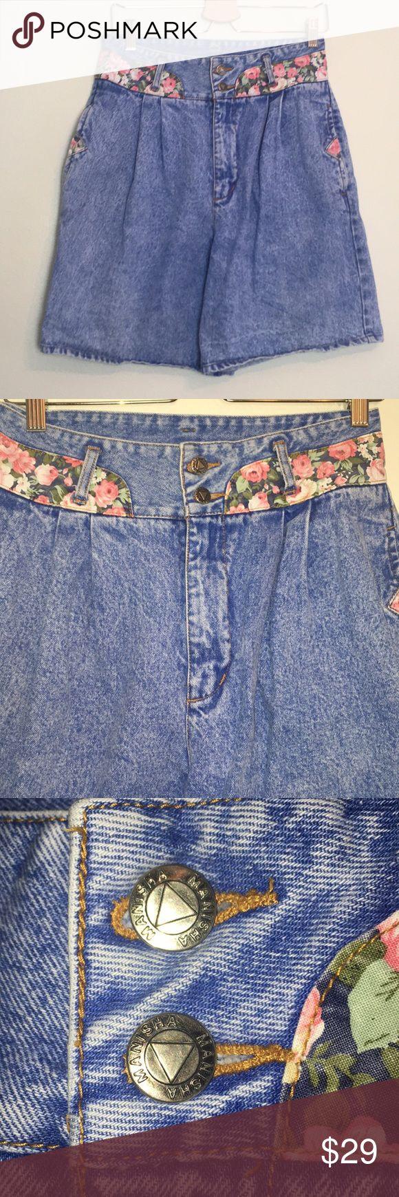 80er 90er Jahre Vintage Plissee Acid Wash Jean Shorts 80er 90er Jahre Vintage Manish …   – My Posh Picks