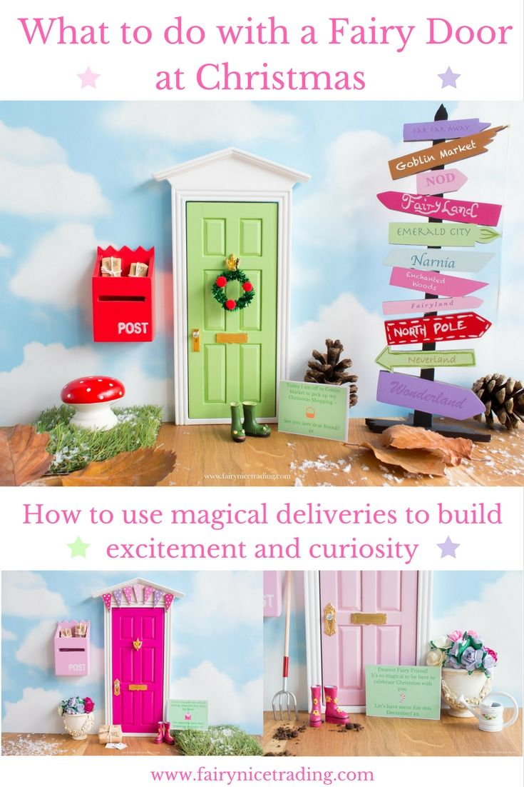 What to do with a Fairy Door - Our Christmas blog series