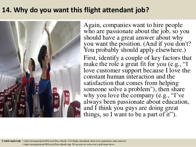 24 best Flight attendant images on Pinterest Interview questions - flight attendant job description