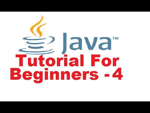 java tutorial for beginners 4 variables and types in java