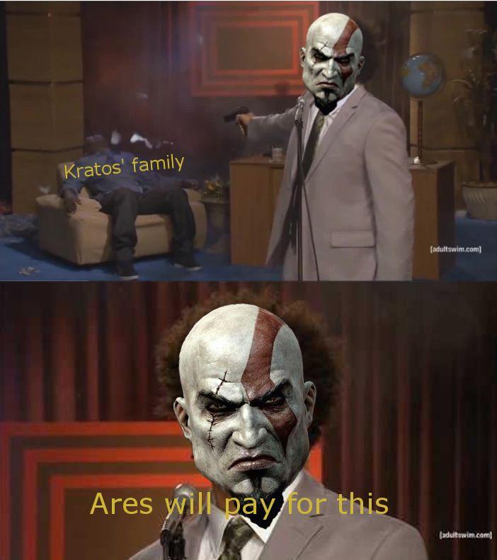 Resultado De Imagem Para God Of War Boy Meme Kratos God Of War