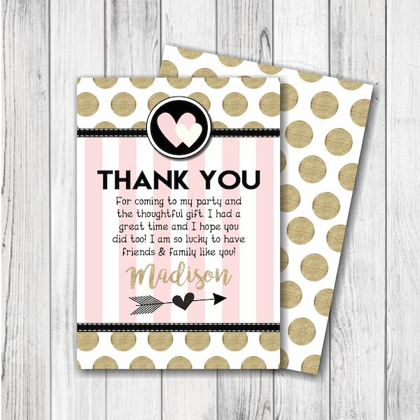 Best 25 Birthday thank you cards ideas on Pinterest  Birthday