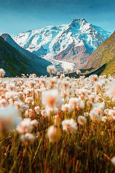 Tian Shan Mountains.
