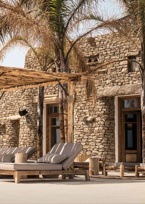 17 id es propos de maison grecque sur pinterest gr ce - Deco terrasse la terrasse de style iles grecques et mediterraneen ...