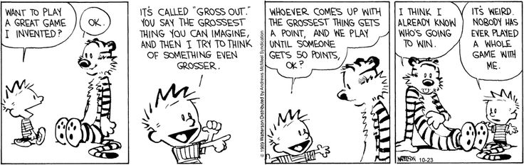 Calvin and hobbes by bill watterson for october 23 2019
