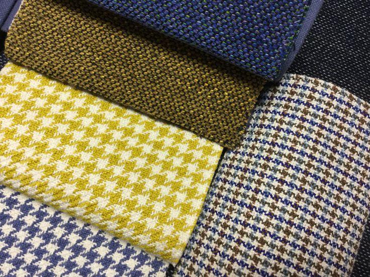 Alfil, Danza and King by Ontario Fabrics. #tapisseria #tapicería #upholstery #patadegallo #potadegall #xenilla #chenilla #fibrasnaturales #fibresnaturals