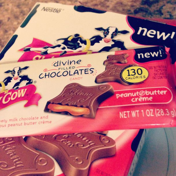 Skinny Cow Divine Filled Chocolates Candy #IndulgeWithSkinny