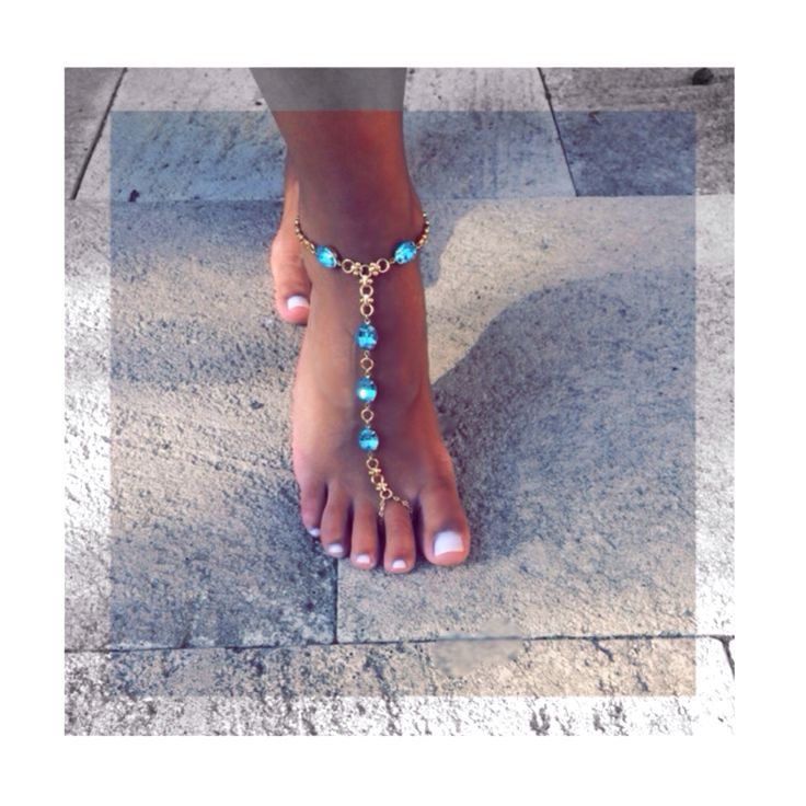 New designs for 2015 Balyck Swarovski jeweled anklets