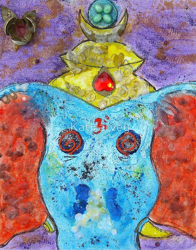 """Ganesh"" by KatHarvey | RedBubble"