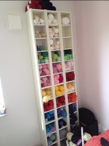 220 Best Creative Yarn Storage Images On Pinterest Organizers