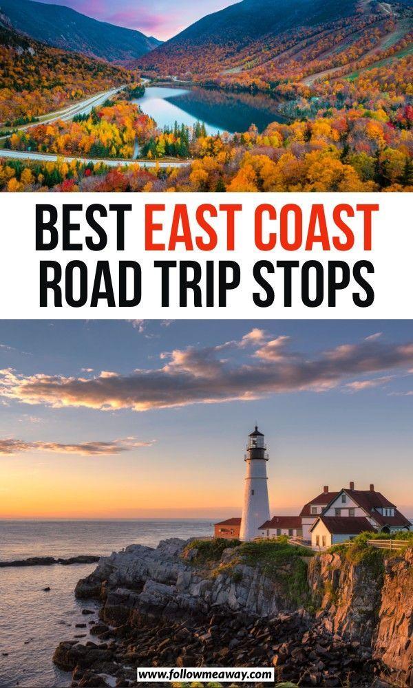 15 Fun East Coast Usa Road Trips For Your Bucket List East Coast Road Trip East Coast Vacation East Coast Travel