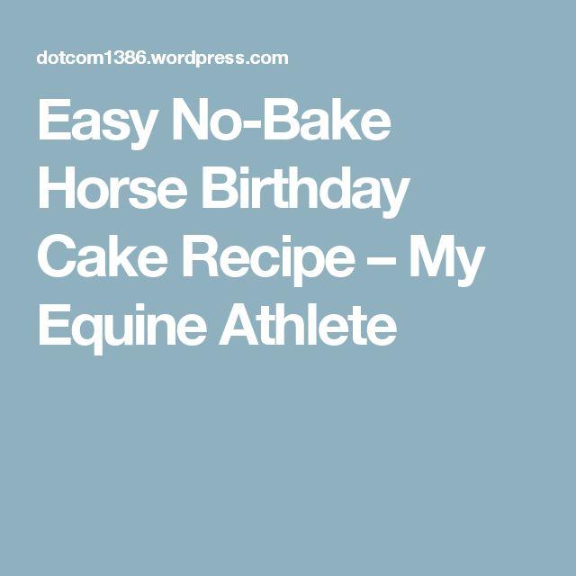 Horse Birthday Cakes on Pinterest  Horse cake, Horse theme birthday ...