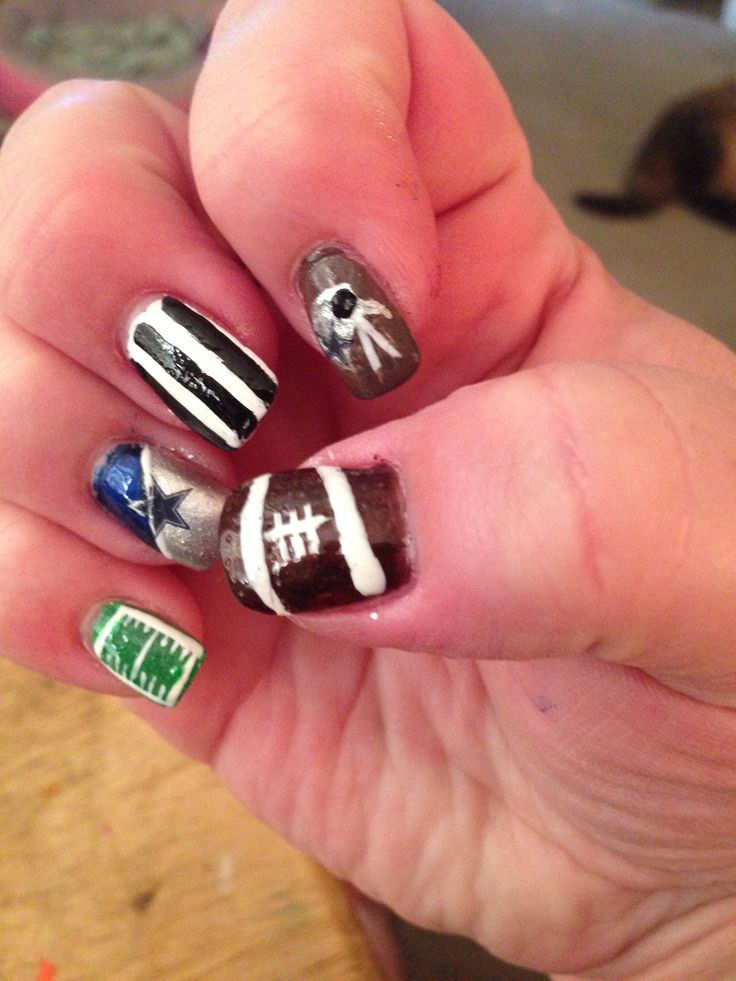 67 best dallas cowboys nail art images on pinterest dallas football cowboys nail art prinsesfo Gallery