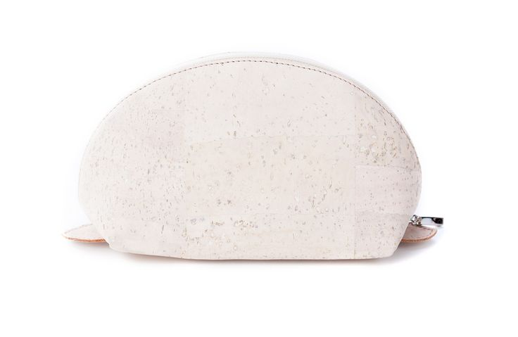 Half Moon #Cosmetic #Bag made of silky smooth #cork #leather | 100% #sustainable & #vegan | from CHF 32.70 | free delivery & return within Switzerland
