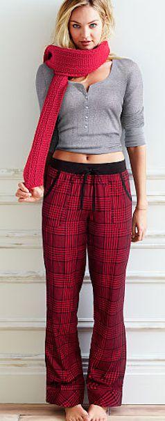 plaid pajama set  http://rstyle.me/n/ukmpipdpe