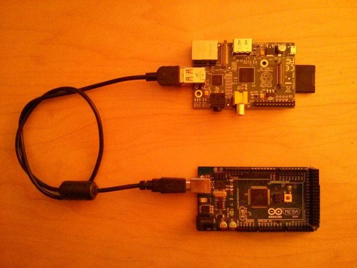 Raspberry Pi + Arduino + Tornado