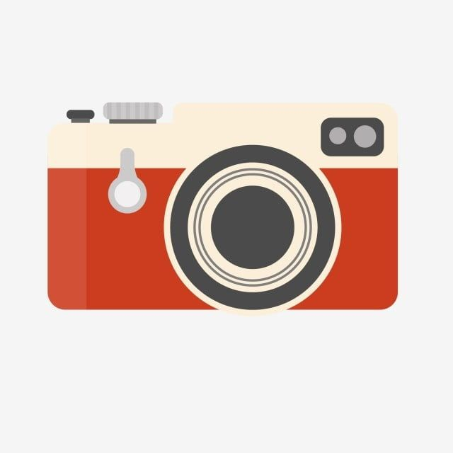 Red Vintage Camera Vector Clipart Vector And Png Clip Art Vintage Camera Vector Clipart
