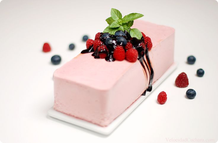 Semifrio de fresas