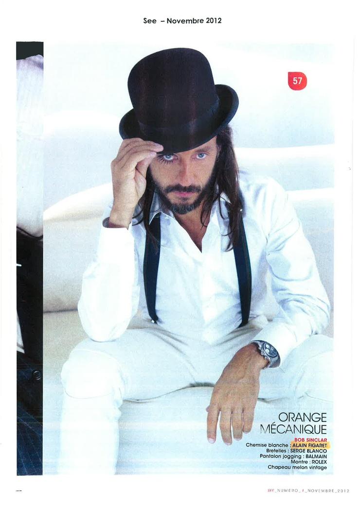 Bob Sinclar dans See Magazine Novembre 2012   #bobsinclar #seemagazine