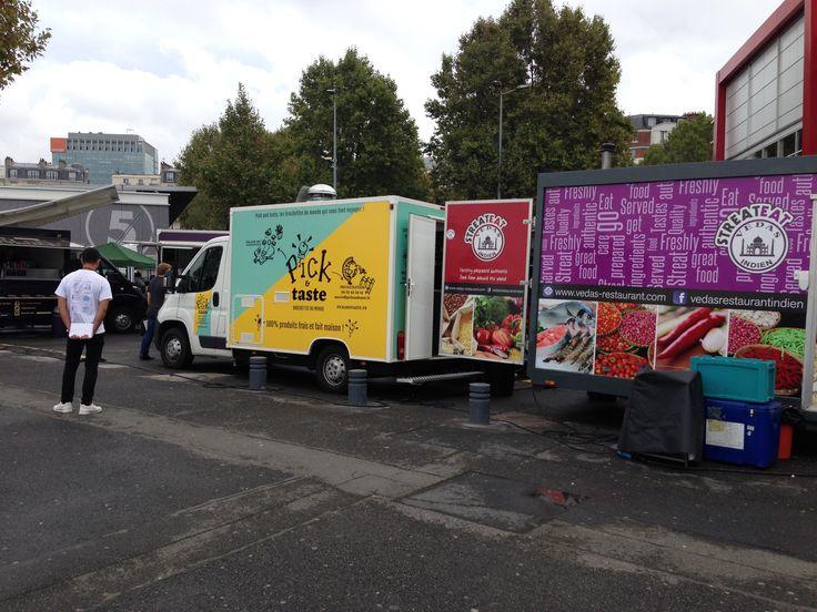 15/09/2016 - Salon Rapid Resto - La folie du food truck : le territoire de communication sur le fait maison bien exploité par les food trucks