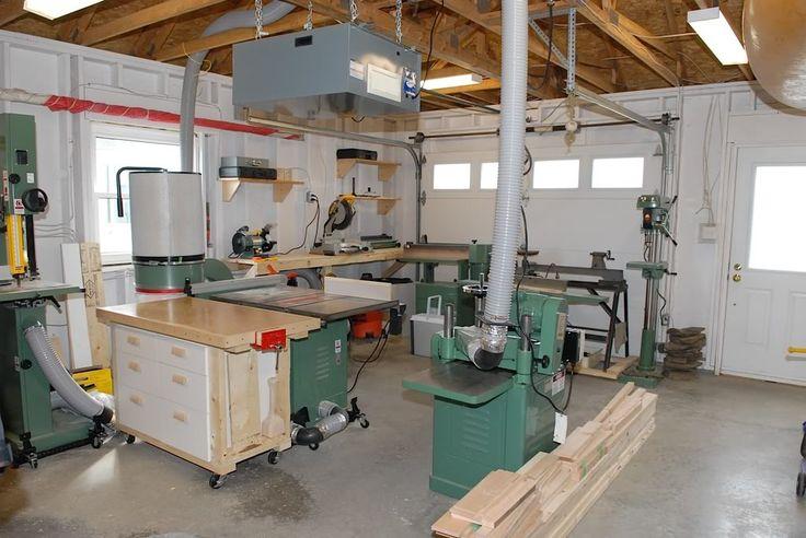 Wonderful Garage Workshop Plans Layout  In The Studio  Pinterest