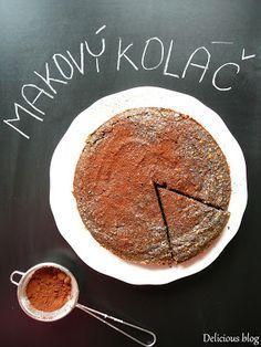 Delicious blog: Pečení bez mouky...Makový koláč