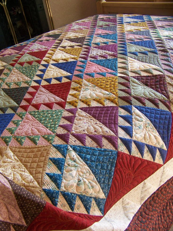 227 Best Half Square Triangle Quilts Images On Pinterest