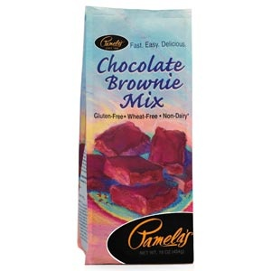 Pamela's Chocolate Brownie Mix creates deep, dark, fudgy brownies as well as other desserts. This premium mix is for the extreme chocolate lover! Incredibly versatile and easy to make! Creates rich and moist brownies, chocolate waffles, and decadent cookies. Gluten Free