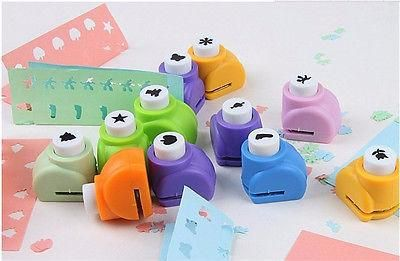 [Visit to Buy] 100 Style Handmade Crafts and Scrapbooking Tool Mini Paper Punch For DIY Gift Card Punches Embossing device perforadora de papel #Advertisement