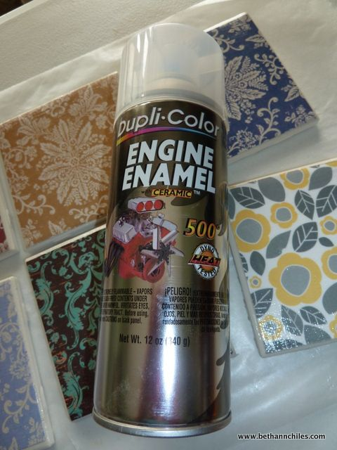 How To Paint Ceramic Tiles Crafts