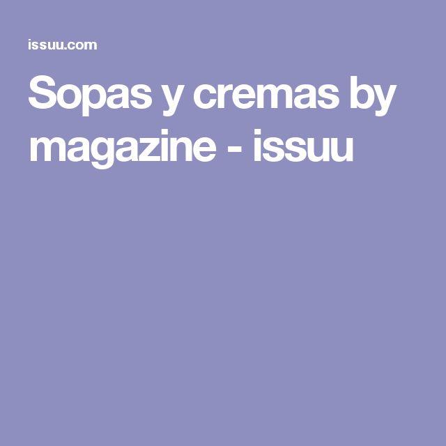 Sopas y cremas by magazine - issuu