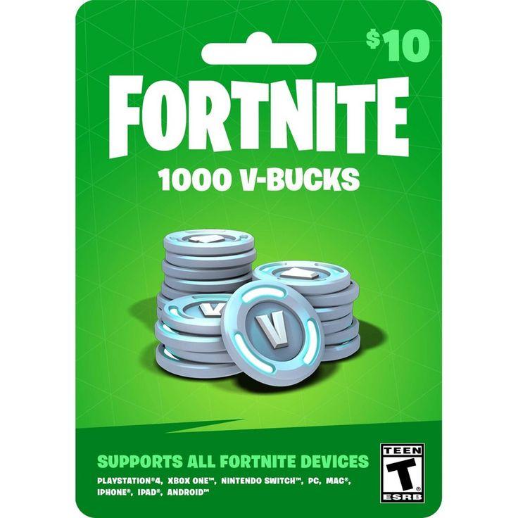 fortnite 1000 vbucks gift card  xbox gift card ps4