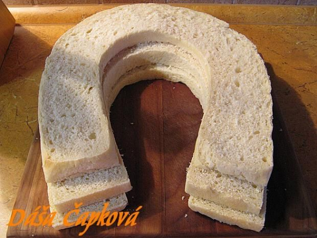 Slaný dort - podkova 3