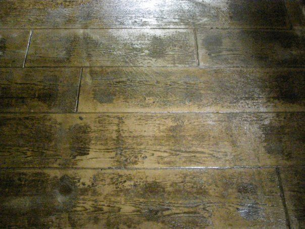 Wood Plank Pattern Great For Interior Floors With Radiant