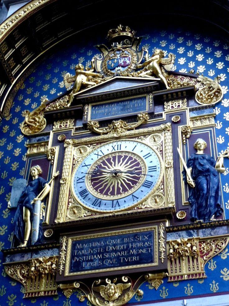 Concierge Clock Tower ~ Paris                                                                                                                                                                                 Plus