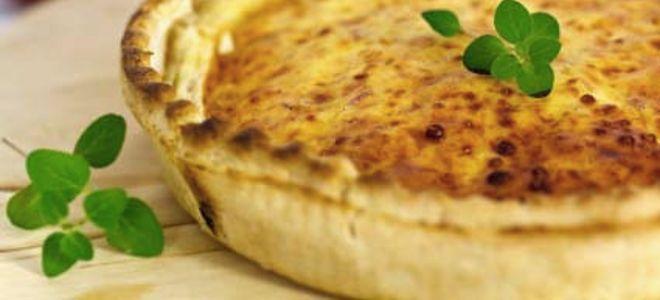 Συνταγή για τάρτα με αυγά και μπέικον, κις λορέν όπως λένε οι γάλλοι