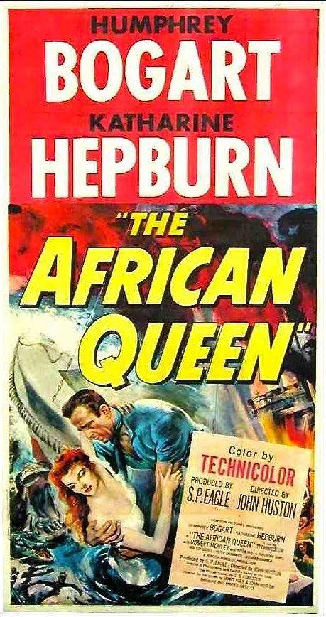 The African Queen (1951) Humphrey #bogart Katharine #hepburn
