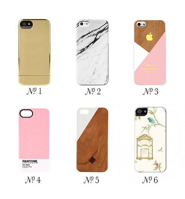 {glamorous gadgets | technology talk : six lovely iphone cases}