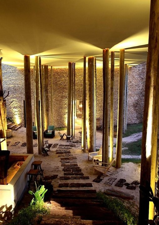 The Beautiful Eco-Chic Design Hotel Kenoa in Barra de São Miguel, Brazil / Brésil chic ! Concours GLAMOUR