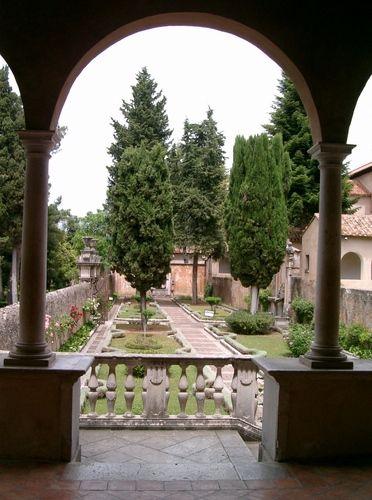 Certosa di Padula (giardino)