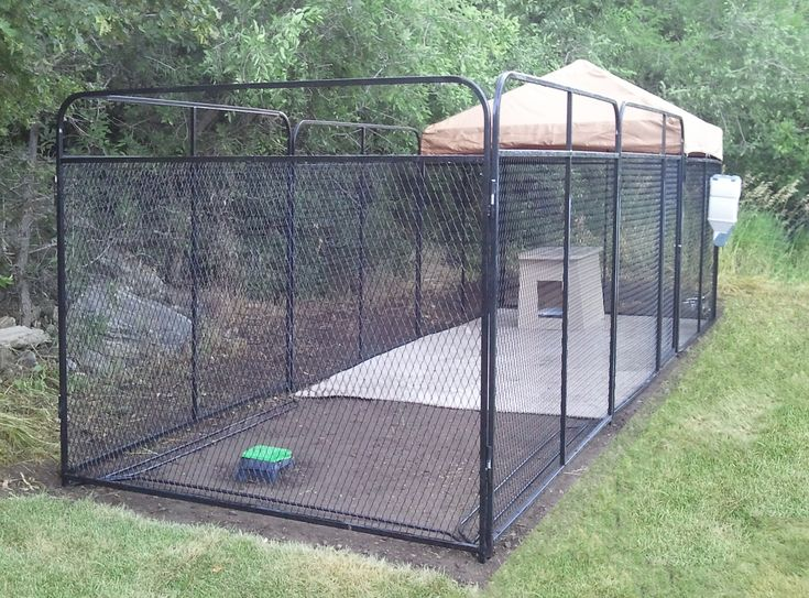 Building a Dog Run | ... How to Build Dog Kennel, Outdoor Dog Kennels, Dog Runs (k9kennesltore