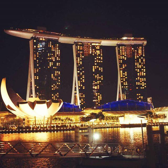 Instagram【sanpo0605】さんの写真をピンしています。 《#Singapore #scenery #night view #marinabaysands #風景 #夜景 #ロマンチック #旅行 #海外旅行 #symbol #シンガポールシリーズ》